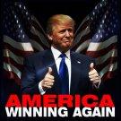 America Winning Again Flag - Trump 2020 Flag 3x5Ft MAGA