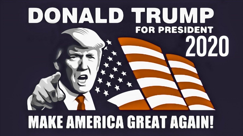 Donlad Trump For President Flag Banner 2020 3x5 Foot