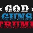 GOD GUNS TRUMP Flag 3x5Ft MAGA President USA