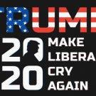 Make Liberals Cry Again President USA Trump 2020 Flag 3x5ft