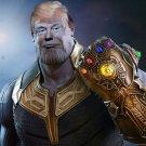 Trump Thanos Flag - Trump 2020 Flag 3x5ft Keep America Great