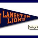 HBCU Pennant (Langston University)