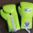 Custom Made, Winning Boxing Gloves, Neon Green