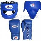 Custom Made, Blue, Winning Boxing Set, 3 in 1