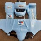 Custom Made, Sky Blue, Winning Boxing Set, 3 in 1