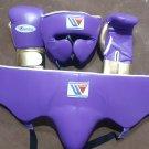 Custom Made, Purple Gold, Winning Boxing Set, 3 in 1