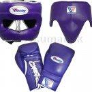 Custom Made, Purple, Winning Boxing Set, 3 in 1