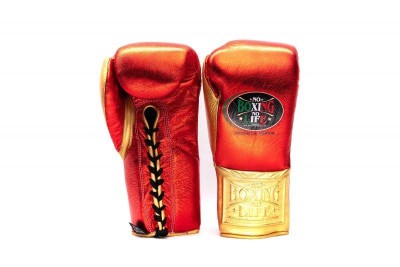 Custom Made, NO BOXING NO LIFE Gloves RED & GOLD