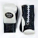 Custom Made, NO BOXING NO LIFE Gloves BLACK & WHITE