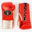 Custom Made, NO BOXING NO LIFE Gloves RED & SILVER