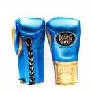Custom Made, NO BOXING NO LIFE Gloves BLUE & GOLD