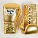 Custom Made, NO BOXING NO LIFE Gloves GOLD