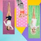 Yoga Mat - Pilates Meditation Sports Fitness - Non Skid