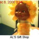 Butterscotch Candy Doll Jar
