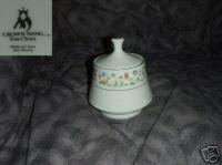 Crown Ming Susan 1 Sugar Dish ( Bowl ) with Lid