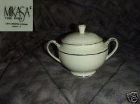 Mikasa Stanton Platinum 1 Sugar Dish ( Bowl ) with Lid