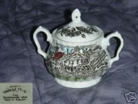 Myott / Staffordshire Royal Mail Sugar Dish ( Bowl )