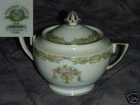 Noritake Arvana 1 Sugar Dish Bowl with Lid