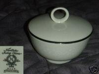 Noritake Montblanc Sugar Dish ( Bowl ) with Lid