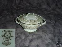 Noritake Raphael 1 Sugar Dish ( Bowl ) with Lid