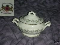 Royal Jackson Bridal Wreath Sugar Dish with Lid