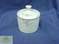 Sango Royal Collection Bridal Rose Sugar Dish with Lid