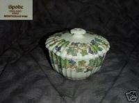 Spode Monticello Vine 1 Sugar Dish ( Bowl ) with Lid