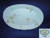 Crest Wood China Monticello Pattern Serving Platter