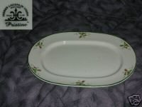 Homer Laughlin Pink Violets Pristine Oval Serving Platter