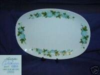 Noritake Blue Orchard 1 Oval Serving Platter