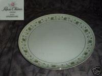 Rose China Springtime Chop Plate Round Platter