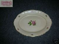Syracuse Victoria 1 Oval Serving Platter - 12 1/8""