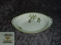 Aladdin Bamboo Oval Vegetable Serving Bowl