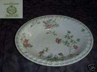 Minton Birds of Paradise 1 Oval Vegetable Serving Bowl