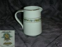 Noritake Macon Creamer or Cream Pitcher
