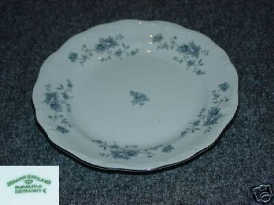 Johann Haviland Bavaria Blue Garland 6 Bread Plates