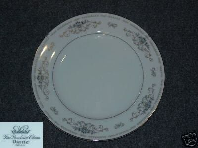 Fine China of Japan Diane 4 Dinner Plates
