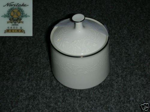 Noritake Reina 1 Sugar Dish ( Bowl ) with Lid