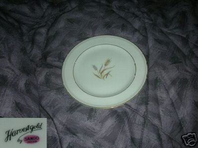 Sango Harvest Gold 4  Bread and Butter Plates