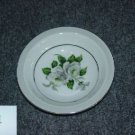 Japan China White Rose ( Platinum ) 5 Fruit Bowls