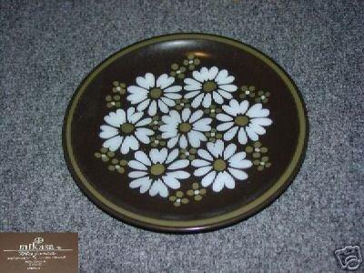 Mikasa Ravenna 4 Salad Plates - MINT