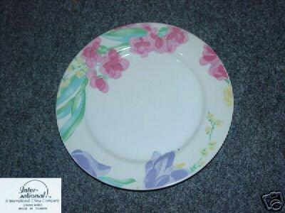 International China Floradale 4 Salad Plates