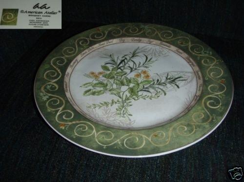 American Atelier Bouquet Garni Chop Plate Round Platter