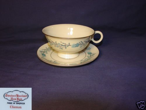Theodore Haviland Clinton 3 Cup and Saucer Sets