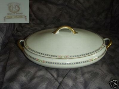 Noritake The Alais Oval Covered Vegetable Bowl with Lid