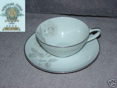 Noritake Melrose 4 Cup and Saucer Sets