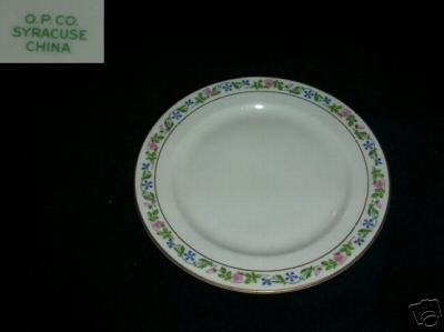 Syracuse Melrose 4 Bread and Butter Plates