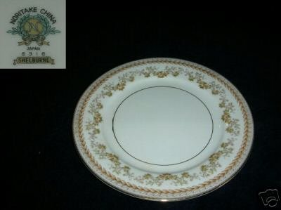 Noritake Shelburne 2 Bread and Butter Plates