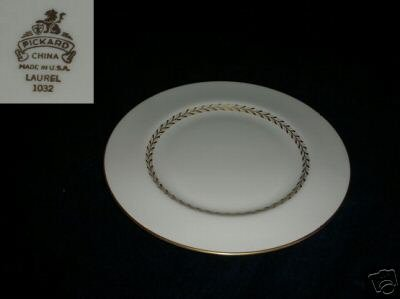 Pickard Laurel 4 Bread and Butter Plates