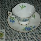 Rossetti Meadow Belle 4 Cup and Saucer Sets